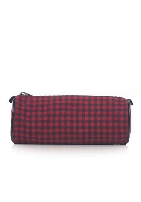 Fabric case Kiton | 5032241 | DTOMBOLINOQUADRI ROSSO