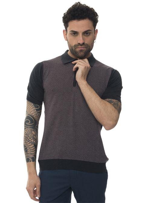 Short sleeve polo shirt Kiton | 2 | UK943_ZE18V111002GRIGIO_ROSSO