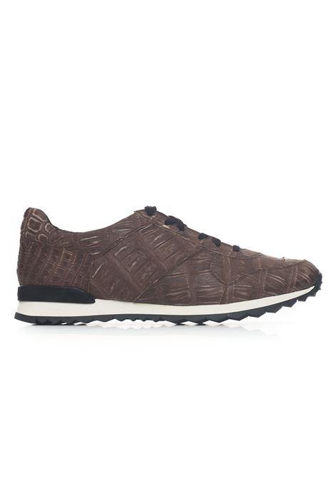 Sneakers con lacci Kiton | 5032317 | USSVLANN18601MARRONE
