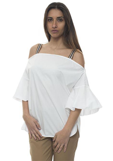 Avola Cotton blouse Mariella Rosati | 2035781291 | AVOLAA001