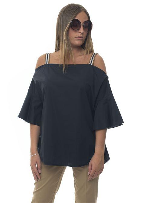Camicia da donna in cotone Avola Mariella Rosati | 2035781291 | AVOLAR001