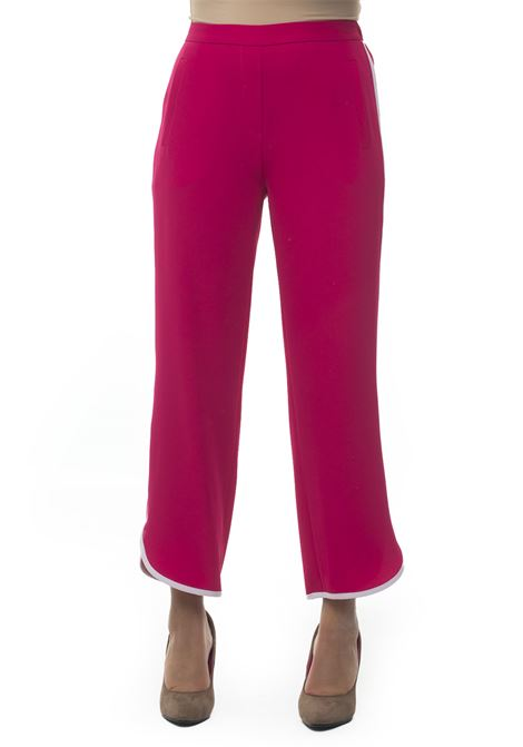 Cerchio Soft trousers in cady Mariella Rosati | 9 | CERCHIOY001