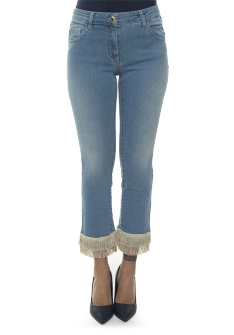 Pittore 5 pocket denim Jeans Mariella Rosati | 24 | PITTOREFRANGIAP001