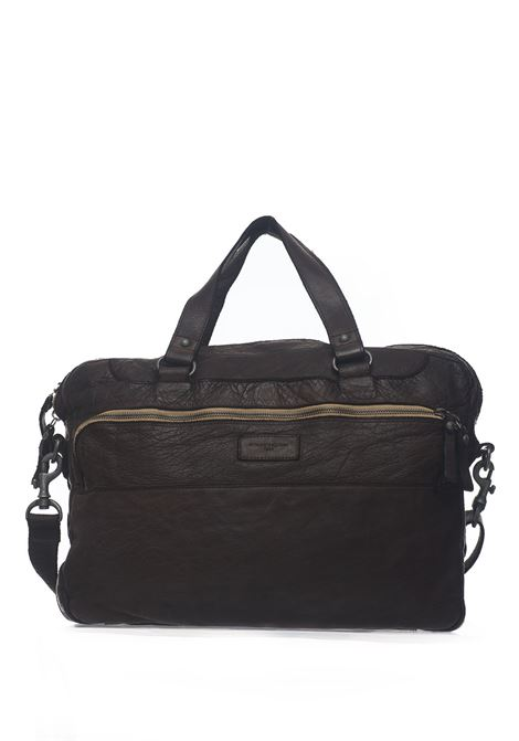Leather bag MINORONZONI 1953 | 20000001 | MRS192B107C60