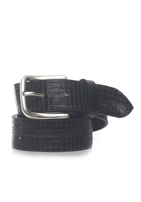 Leather belt MINORONZONI 1953 | 20000041 | MRS193C015C60