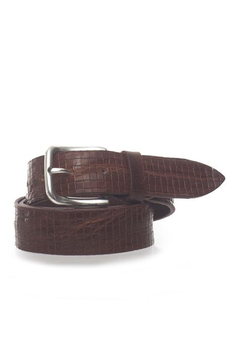 Leather belt MINORONZONI 1953 | 20000041 | MRS193C015C61