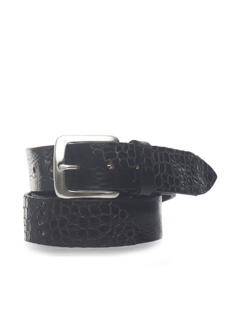 Leather belt MINORONZONI 1953 | 20000041 | MRS193C016C60