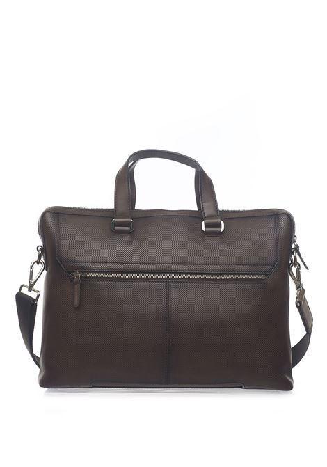 Leather satchel MINORONZONI 1953 | 20000007 | MRS194B112C60