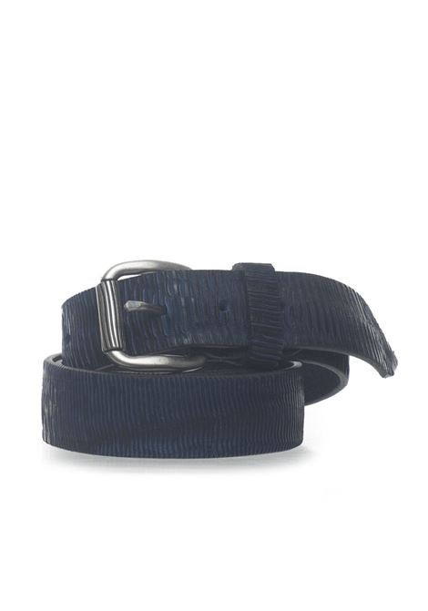 Leather belt MINORONZONI 1953 | 20000041 | MRS195C023C30