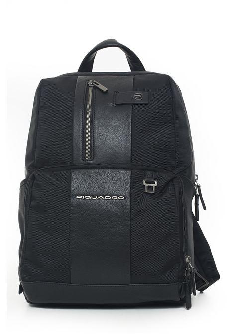 Leather rucksack Piquadro | 5032307 | CA3214B3N