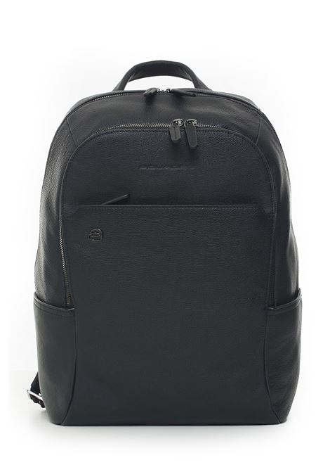 Leather rucksack Piquadro | 5032307 | CA3214BRN