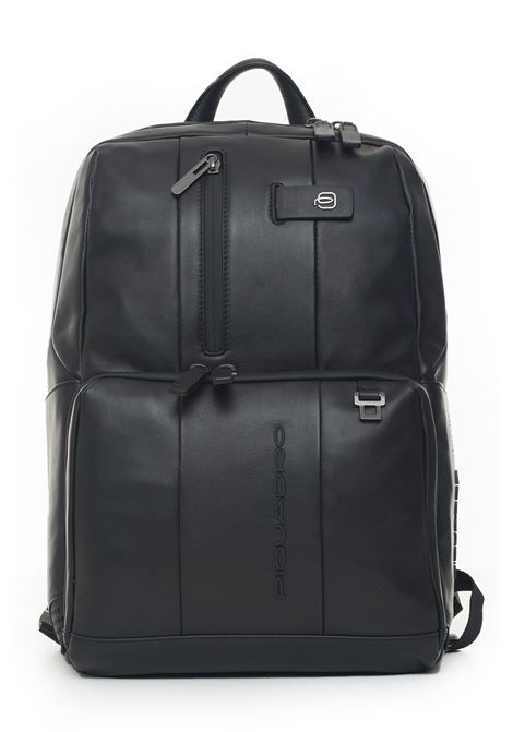 Leather rucksack Piquadro | 5032307 | CA3214UB00BMTN
