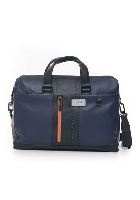 Two-compartment work satchel bag Piquadro | 20000007 | CA3339UB00BLGR