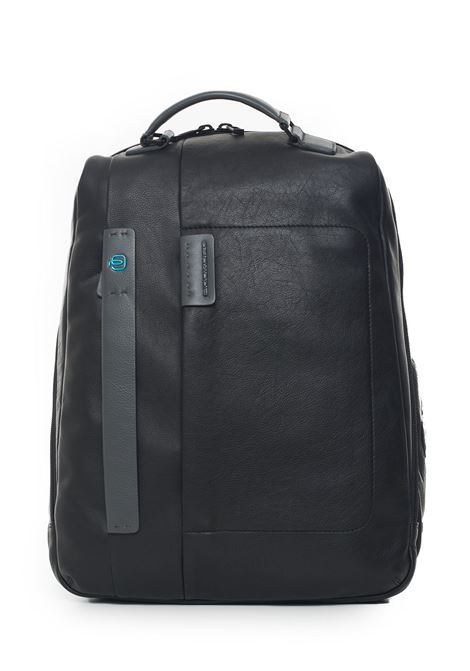 Leather rucksack Piquadro | 5032307 | CA3349P15N