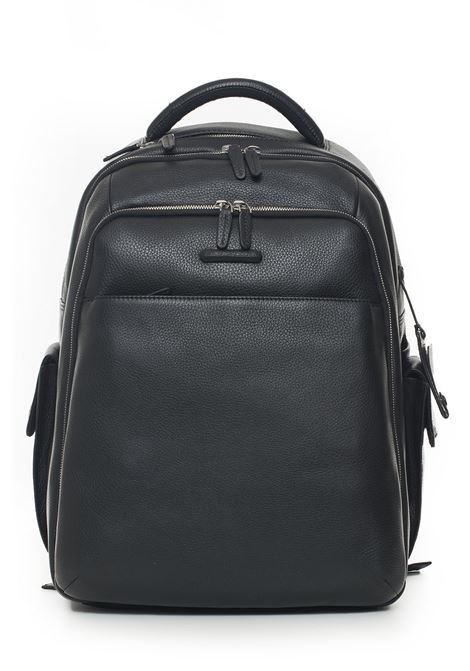 Leather rucksack Piquadro | 5032307 | CA3444MON