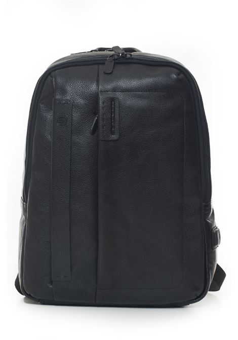 Leather rucksack Piquadro | 5032307 | CA3869P15SN