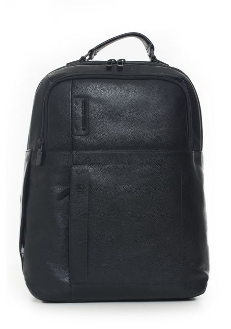 Leather rucksack Piquadro | 5032307 | CA4174P15SN