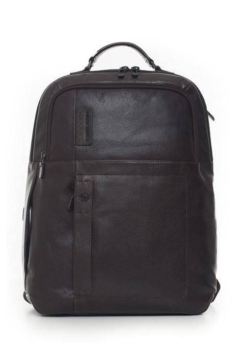 Leather rucksack Piquadro | 5032307 | CA4174P15STM