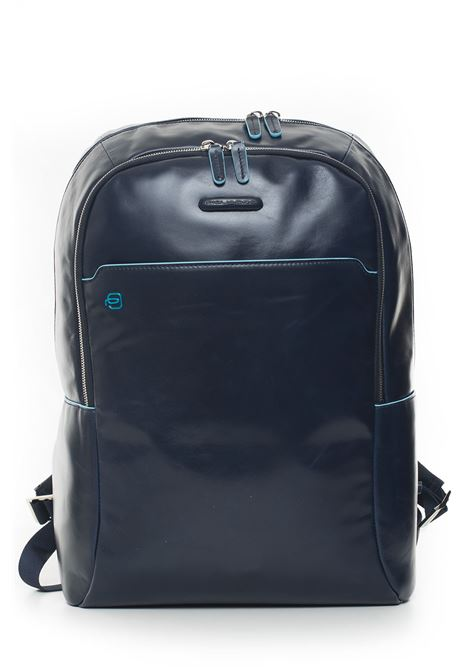 Leather rucksack Piquadro | 5032307 | CA4762B2BLU2