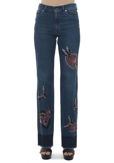 Jeans denim medio Red Valentino | 24 | RR0DE00T-KFC558