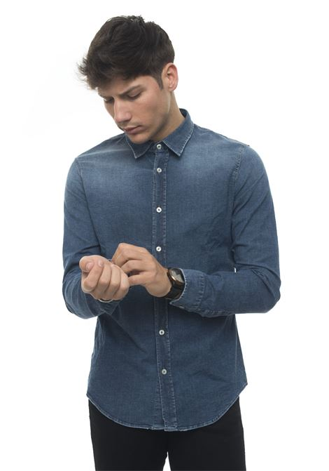 Camicia da uomo in jeans SHIRTCROOK Roy Rogers | 6 | SHIRT CROOK-DENIMPRIVE