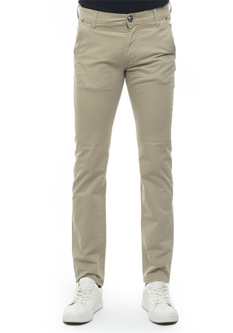 WELIAS RR'S cotton trousers with drawstring Roy Rogers | 9 | WELIAS-RRS GABARDINEKAKI