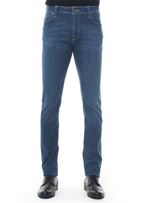 Leonardo_Slim 5 pocket denim Jeans Tramarossa | 24 | LEONARDO_SLIM-D3062 YEAR