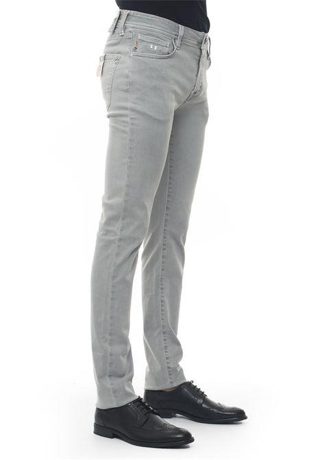 Jeans 5 tasche Leonardo_Slim Tramarossa | 24 | LEONARDO_SLIM-G125SEA FOAM