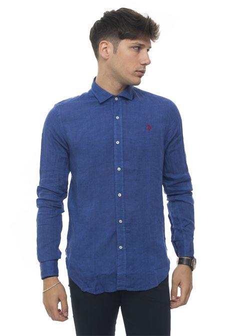Camicia lino manica lunga US Polo Assn | 6 | 51477-50816173