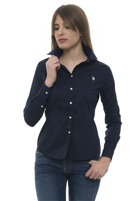 Camicia da donna in cotone US Polo Assn | 6 | 51515-51702179