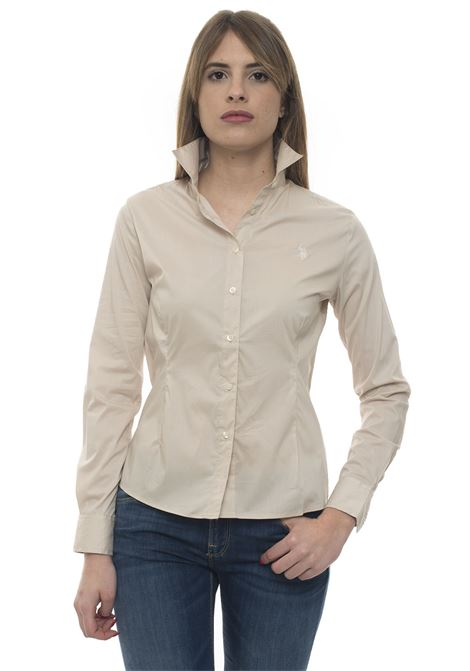 Camicia da donna in cotone US Polo Assn | 6 | 51515-51702208