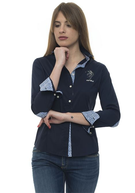 Camicia da donna in cotone US Polo Assn | 6 | 51517-51702179