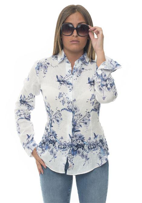 Amalfi Long-sleeved linen shirt Vincenzo De Lauziers | 6 | AMALFI-TX1055101