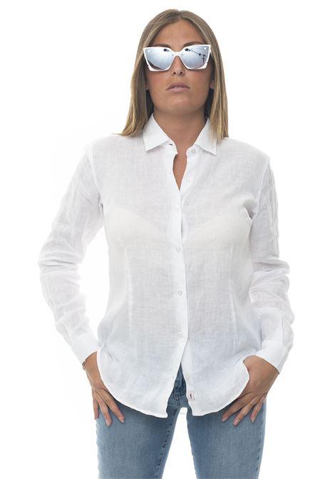 Camicia lino manica lunga Amalfi Vincenzo De Lauziers | 6 | AMALFI-VI08681