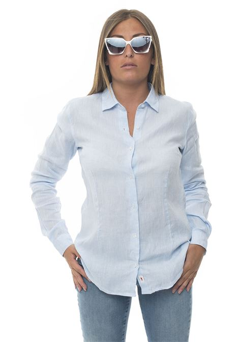 Camicia lino manica lunga Amalfi Vincenzo De Lauziers | 6 | AMALFI-VI08685