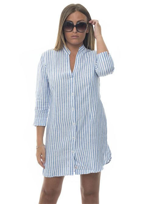 Capri Linen dress Vincenzo De Lauziers | 130000002 | CAPRI-VI08792