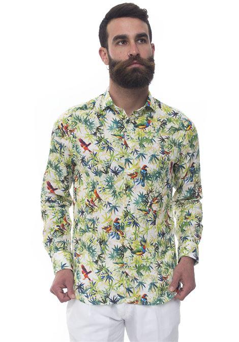 Camicia lino manica lunga Vincenzo De Lauziers | 6 | FR47-TC105002
