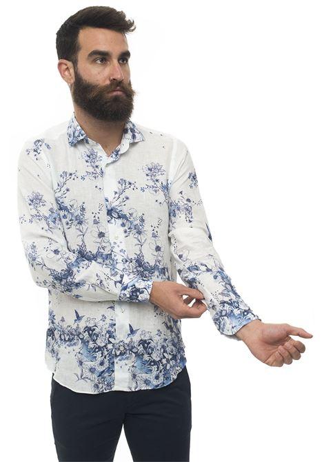 Camicia lino manica lunga Vincenzo De Lauziers | 6 | FR47-TX1055101