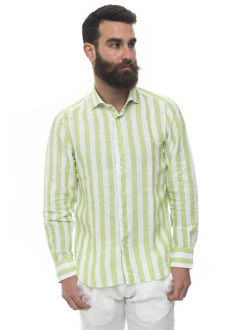 Camicia lino manica lunga Vincenzo De Lauziers | 6 | FR47-VI087105