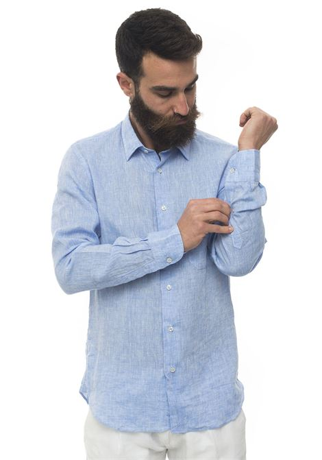 Long-sleeved linen shirt Vincenzo De Lauziers | 6 | G25-BL81803