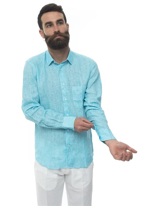 Long-sleeved linen shirt Vincenzo De Lauziers | 6 | G25-CA82201