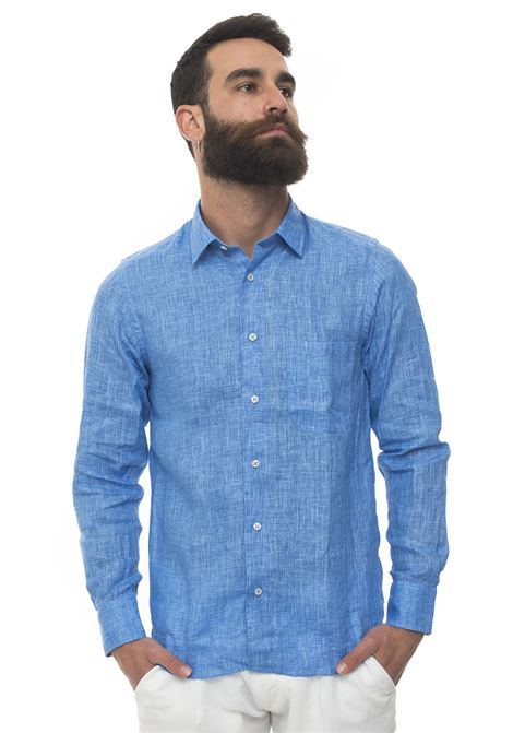 Long-sleeved linen shirt Vincenzo De Lauziers | 6 | G25-CA82204