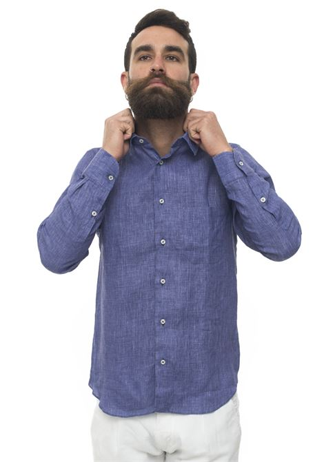 Long-sleeved linen shirt Vincenzo De Lauziers | 6 | G25-CA82205