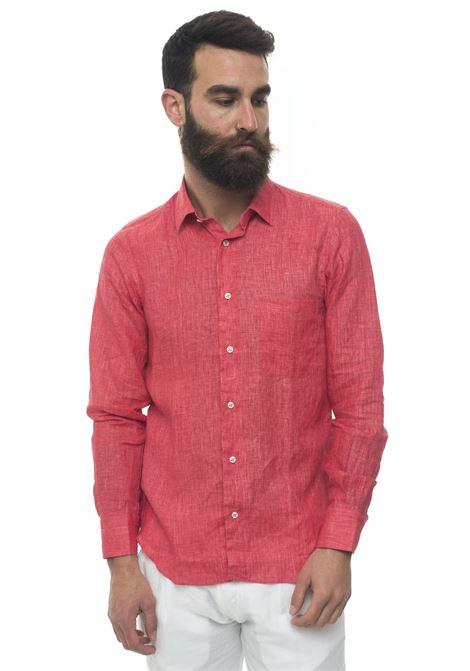Camicia lino manica lunga Vincenzo De Lauziers | 6 | G25-CA82213
