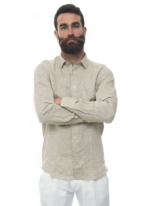 Long-sleeved linen shirt Vincenzo De Lauziers | 6 | G25-VI86803