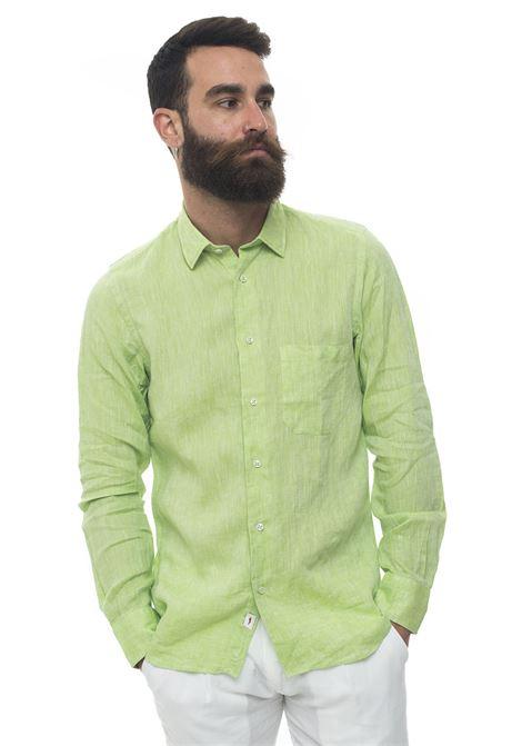 Camicia lino manica lunga Vincenzo De Lauziers | 6 | G25-VI86814