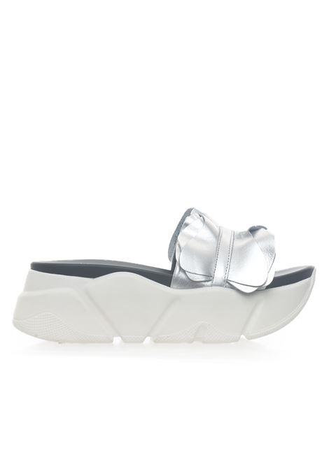 PAMELA Wedge-heel sandals Voile Blanche | 20000009 | 00105025980Q04