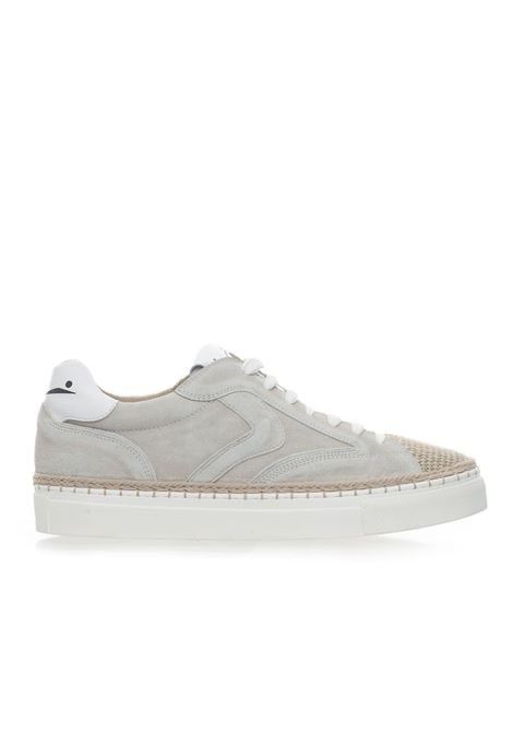 NEW ISCHIA canvas and suede sneaker Voile Blanche | 5032317 | 00120134820E01