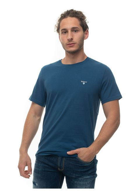 BATEE0414 Short-sleeved round-necked T-shirt Barbour | 8 | BATEE0414-MTSBL91