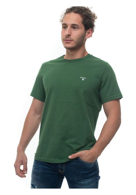 BATEE0414 Short-sleeved round-necked T-shirt Barbour | 8 | BATEE0414-MTSGN18